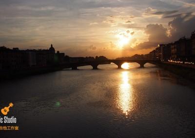 Sunset in Firenze