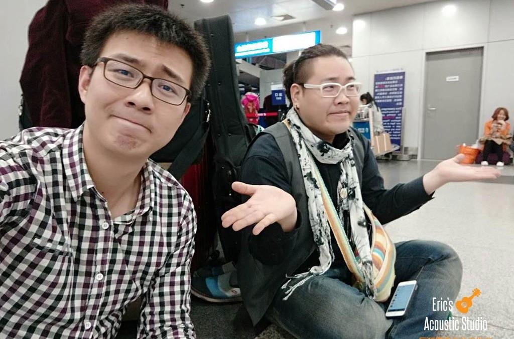 2015 年与日本演奏家 OKAPI 巡回演出日志